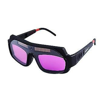 Automatic variable light electric welding glasses welder's strong light and ultraviolet protective