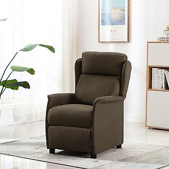 vidaXL Relax tuoli ruskea kangas