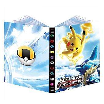 432pcs Album Book For Pokemon Card Cartoon Map Folder Game Cards Vmax Gx Holder Collection Loaded List Kid Toy