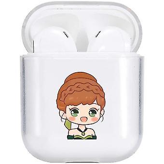 Lovely Princess Case compatible con para Airpod 1 & 2(Princesa encantadora)
