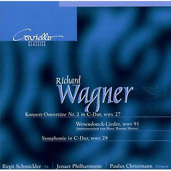 Wagner / Christmann / Schmickler - Konzertouvert 2 / Sym [CD] USA import