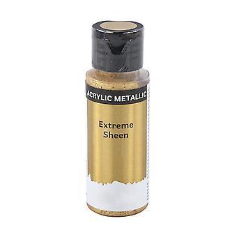 59ml extreme sheen metallinen akryyli maali aikuisille käsityöt - kulta