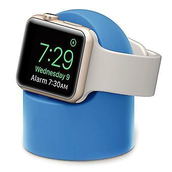 (Lila) Ständer für Apple Watch Series Ladestation Halter Station Zubehör Halterung