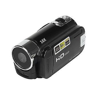 Full Hd 1080p Videokamera Professional Digitaalinen Videokamera (musta)