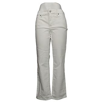 NYDJ Petite Jeans Marilyn Straight Uplift Óptico Blanco A395678