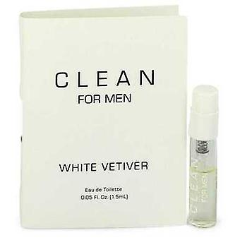 Clean White Vetiver By Clean Vial (échantillon) .05 Oz (hommes)