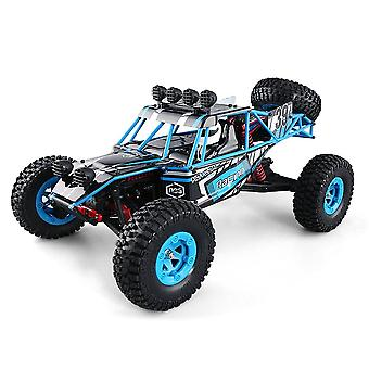 Q39 RC מכונית 1:12 חשמלי 2.4G 4WD מפלצת זוחל מהכביש RC צעצועי רכב| משאיות RC (כחול)