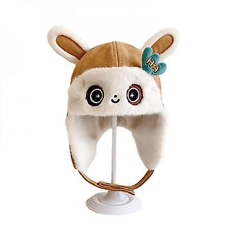 Children's Warm Hats Thick Warm Ear Protection Hats For Baby Cartoon Hats