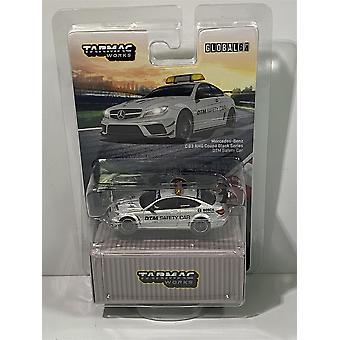 Mercedes C63 Coupe Black Series DTM Safety Car 1:64 Tarmac Works T64G-009-SC