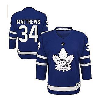 Auston Matthews Toronto Maple Leafs Jeunes joueurs bleus Maillots de hockey sur glace