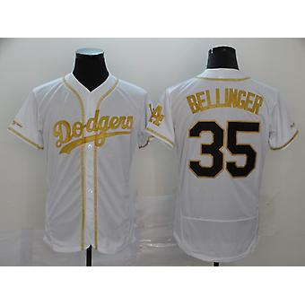 Férfi Baseball Jersey #13 Acuna Jr. #12 Lindor #35 Bellinger Játékos Jerseys Játék Rajongók Sport Póló neve és száma Varrott Fehér S-3xl