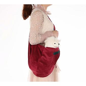 Eine Schulter Faltbare Haustiertasche Diagonal Rücken Haustiertasche Atmungsaktiver Hunderucksack Haustiertasche Tragetasche (Länge 83 * Breite 45, Xbd194)