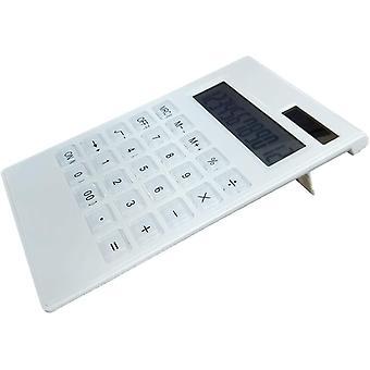 Desktop Calculator,  12 Digit Large Display, Solar & Battery Dual Power Basic Calculator, Standard Function Elegant Design For Office/home/school