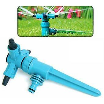 Instelbare snelheid draaiende 3 Arm Sprinkler tuin/gazon 360 graden