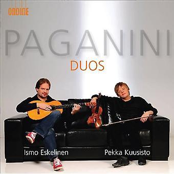 N. Paganini - Paganini: Duos [CD] USA import