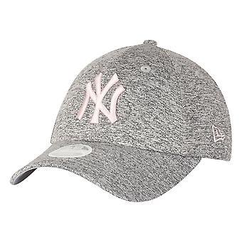 עידן חדש 9Forty נשים כובע-ג'רזי ניו יורק יאנקיז ורוד אפור