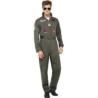 Top gun mens Pokój kostium