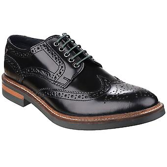 Base London Woburn Mens Brogue Shoes
