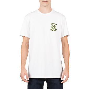 Volcom Tetsunori camiseta de manga corta en blanco