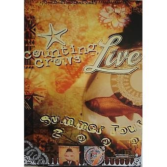Counting Crows Live 2000 Tour Poster
