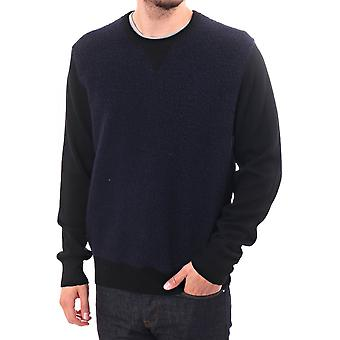 Paul Smith Jeans Twisted Wool Ls Cn Jumper