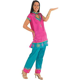 Bollywood Leading Lady Indian India Pink Women Costume