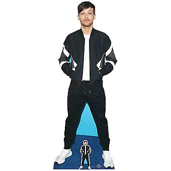 Louis Tomlinson Bomber Jacket Style Lifesize Cardboard Cutout / Standee