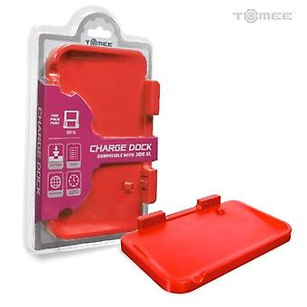 Nintendo 3DS XL Battery Charging Dock Cradle Base - Red by Tomee