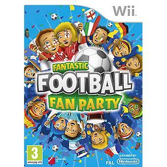 Fantastic fotboll fläkt Party (Wii)-fabriken förseglad