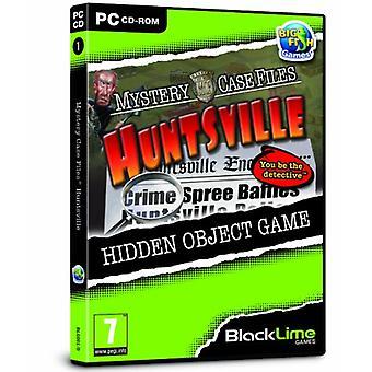 Mystery Case Files Huntsville (PC CD) - Uusi