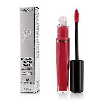 Lancome L'absolu Velvet Matte - # 321 Avec Style - 8ml/0.27oz