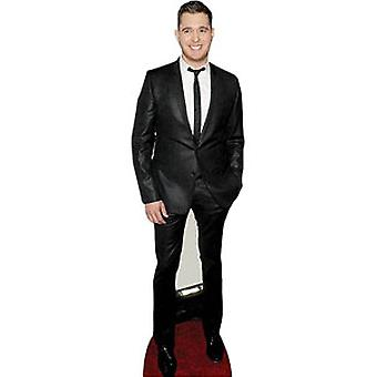 Michael Buble Lifesize kartonnen uitsnede
