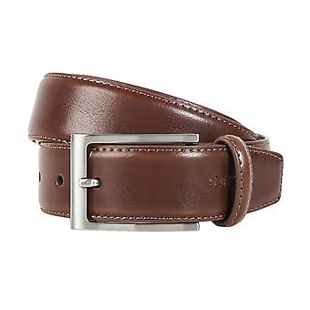 Strellson belts men's belts leather belts men's leather belts Brown/Cognac 1297