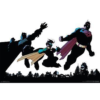 DC Comics - Trio Poster Print