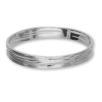 Sterling Silver Traditional Scottish Twiggy Design Hand Crafted Bangle