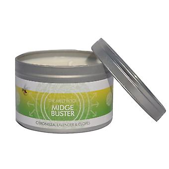 Large Tin Midge Buster Candle by The Melt Pool