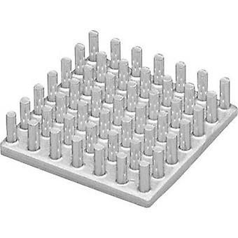 Heat sink 3.2 C/W (L x W x H) 36.4 x 36.4 x 20 mm Fischer Elektronik ICK S 36 x 36 x 20