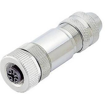 Carpeta del 99-1436-812-05 serie 713, Sensor / actuador Plug conector M12, cierre de tornillo, recto