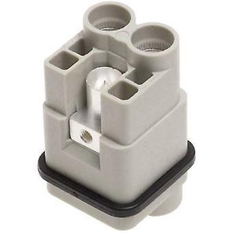 Harting 09 12 002 2751 Sockeleinsatz Han® Q 2 + PE Axialschraubklemme 1 Stk./s