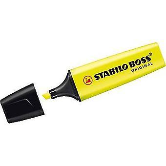Stabilo Highlighter STABILO BOSS® ORIGINAL 70/24 Yellow 2 mm, 5 mm 1 pc(s)