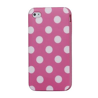 Protective case for mobile iPhone 4 / 4 s pink