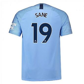 2018-2019 Man City Nike Vapor Hause Match Shirt (Sane 19)