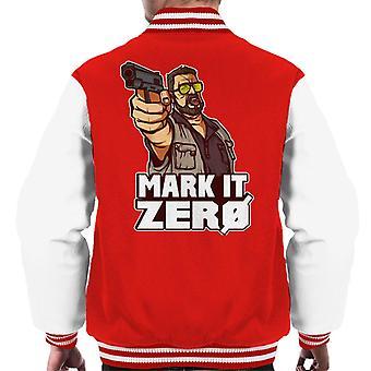 The Big Lebowski Mark It Zero Men's Varsity Jacket