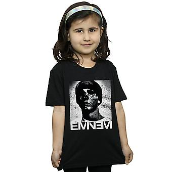 Eminem Girls Skull Face T-Shirt