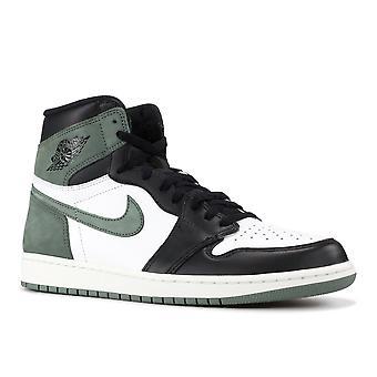 الهواء الأردن 1 الرجعية 'الطين الأخضر'-555088-135-أحذية
