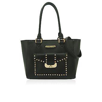 Olivia beschlagene Handtasche