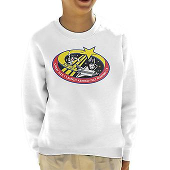 NASA STS 123 Space Shuttle Endeavour Mission Patch Kid's Sweatshirt