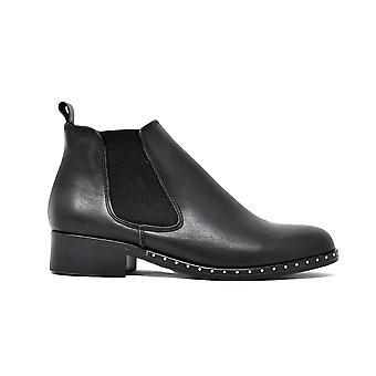 Liberitae ankle boots flat Chelsea leather black 21803334-01