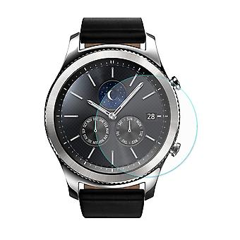 2 pcs HAT PRINCE Samsung Gear S3 Classic/Frontier Tempered Glass 0.2 mm