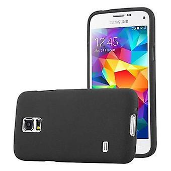 Cadorabo Hülle für Samsung Galaxy S5 MINI / S5 MINI DUOS hülle case cover - Handyhülle aus flexiblem TPU Silikon – Silikonhülle Schutzhülle Ultra Slim Soft Back Cover Case Bumper